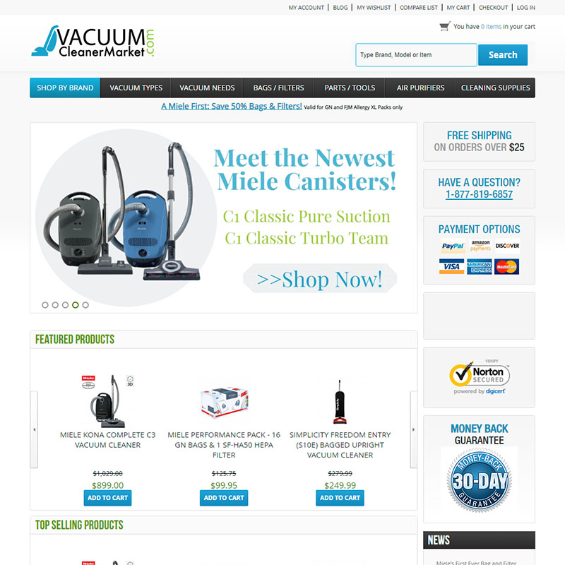 Vacuum Cleaner Maker